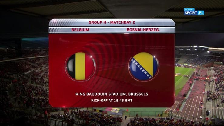 2016-10-07 Belgia - Bośnia i Hercegowina 4:0. Skrót meczu