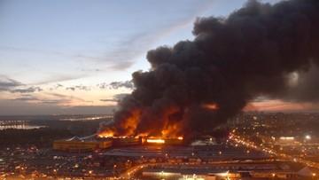 08-10-2017 22:03 Ogromny pożar w Moskwie. 3 tysiące osób ewakuowanych