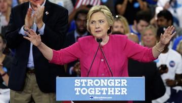 31-07-2016 18:45 Clinton oskarża Rosję o włamanie do maili Demokratów