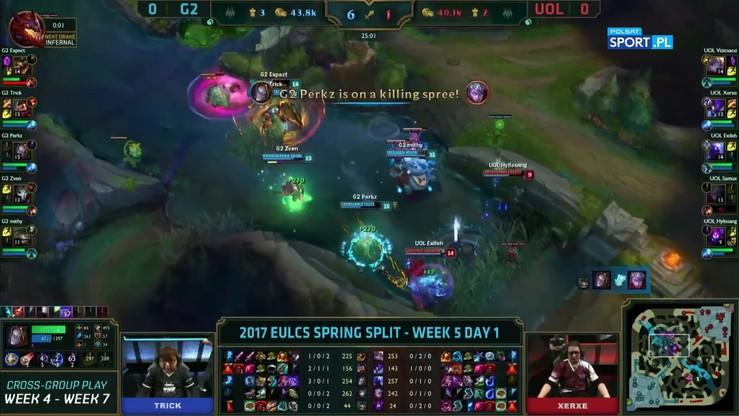 Skrót meczu G2 Esports vs Unicorns of Love