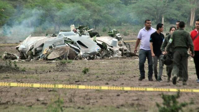 Kolumbia: katastrofa wojskowego samolotu, 11 osób nie żyje