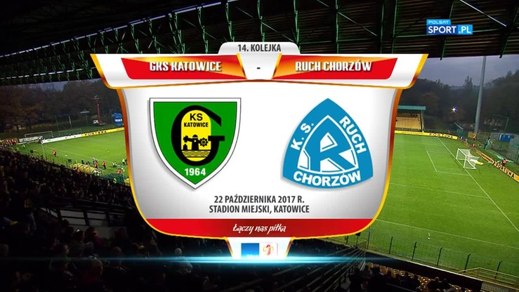 GKS Katowice – Ruch Chorzów 1:2. Skrót meczu