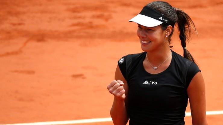 Ivanovic pierwszą półfinalistką French Open