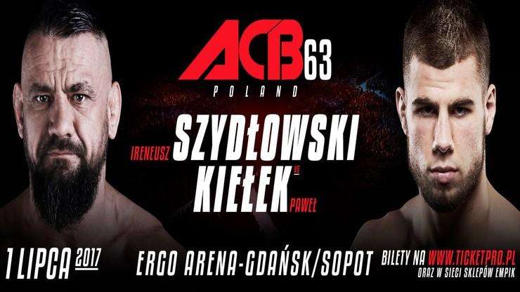 ACB 63: Kiełek, Stepanyan i Wikłacz dodani do karty walk