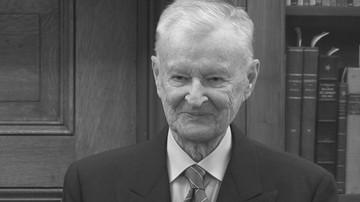 27-05-2017 17:37 Szef BBN o Brzezińskim: był przeciwnikiem dyktatu silnych wobec słabych