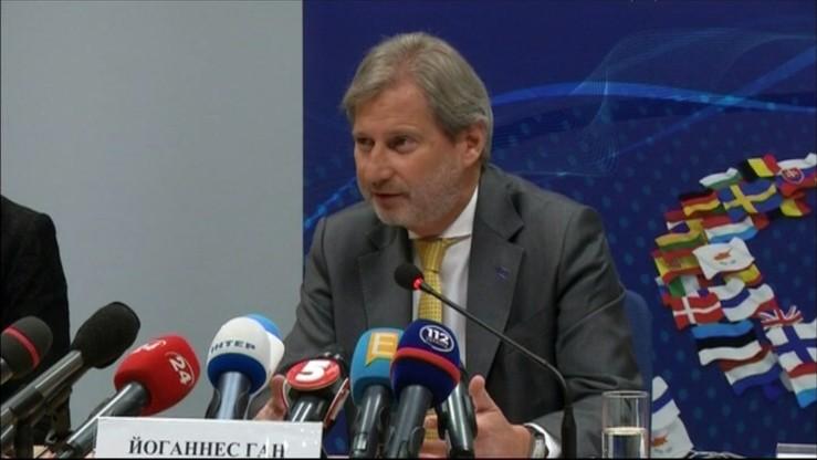 Komisarz UE zachęca nowy rząd Ukrainy do reform