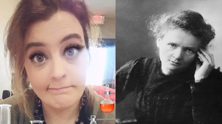 """""""Zalotne rzęsy"""" jako symbol Marii Skłodowskiej-Curie. Kobiety krytykują filtr na Snapchacie"""