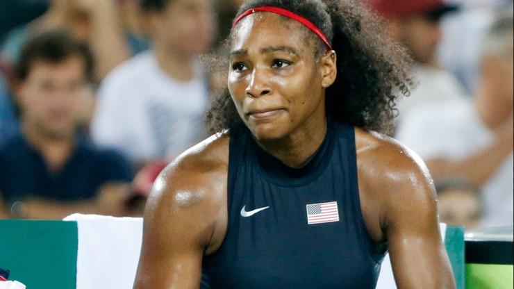 Rio: sensacyjna porażka mistrzyni z Londynu. Serena Williams odpadła w 3 rundzie