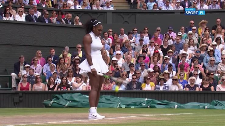 Serena Williams - Andżelika Kerber 7:5, 6:3. Skrót meczu