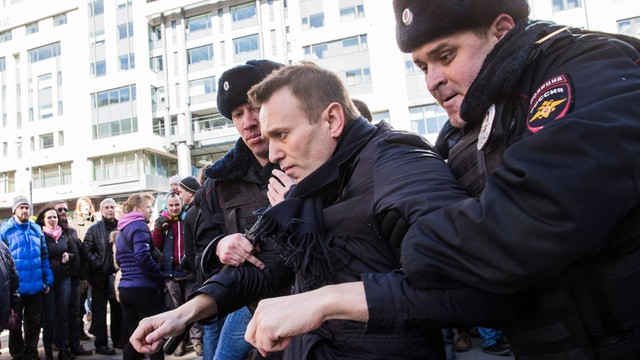 Rosja: Nawalny będzie sądzony za naruszenie trybu organizacji zgromadzeń masowych