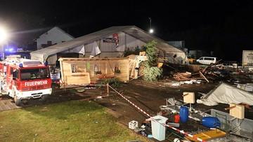 19-08-2017 11:09 Austria: duży namiot zawalił się podczas festynu. Dwie osoby nie żyją; wielu rannych