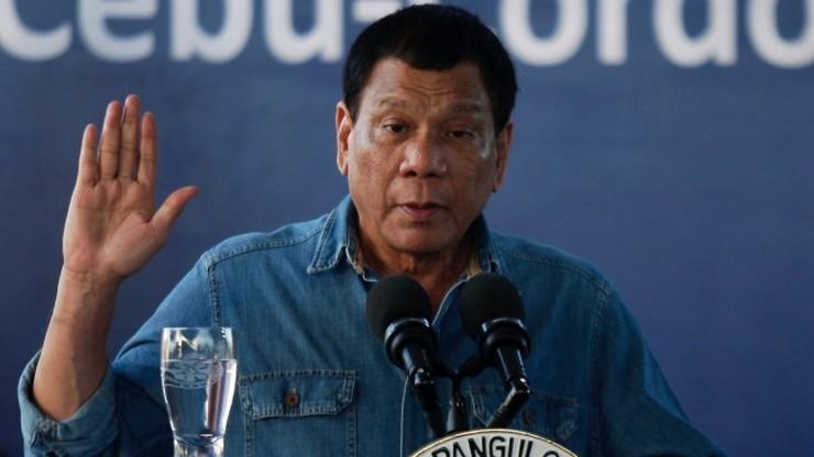 """Prezydent Filipin: """"Rosja zapewniła: mamy wszystko, czego potrzebujesz"""""""