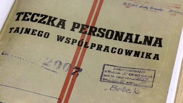 Dokumenty IPN: 5.10.1973 r. TW Bolek oświadczył, że rezygnuje ze współpracy