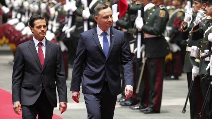 Prezydent Meksyku: chcemy wzmocnić obecność w Europie. Polska priorytetowym partnerem