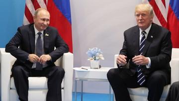 """08-07-2017 09:52 """"Rewelacyjne"""". Trump o spotkaniu z Putinem"""