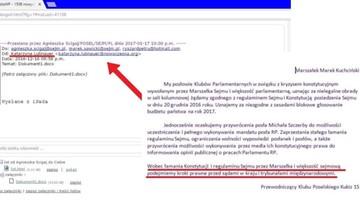18-01-2017 11:21 Kukiz opublikował treść pisma do marszałka Sejmu ws. działań opozycji