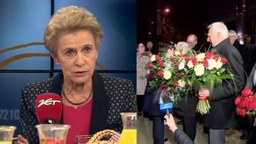 """12-03-2017 10:24 """"Myślałam, że to wrócił Sobieski spod Wiednia"""". Posłanka PO o powitaniu premier po unijnym szczycie"""