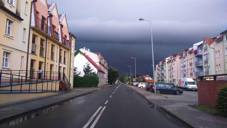 2017-08-12 Nawałnica w Brzegu Dolnym