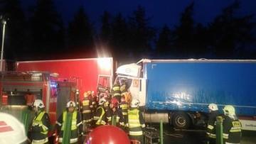 Wypadek na A4 koło Góry św. Anny. Pas w stronę Katowic zablokowany