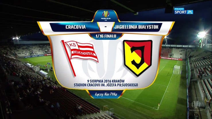 Cracovia - Jagiellonia Białystok 0:1. Skrót meczu