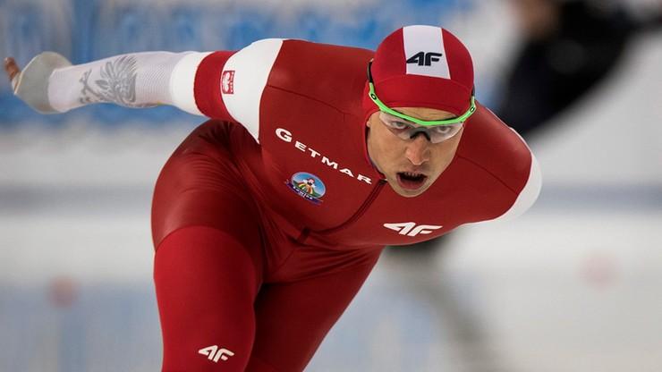 PŚ w łyżwiarstwie szybkim: Zbigniew Bródka piąty na 1500 metrów