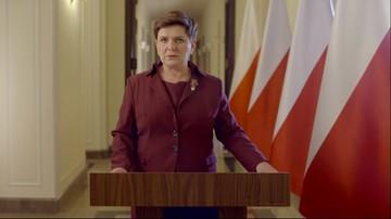 12-01-2016 21:00 Wystąpienie premier Szydło: Naruszamy interesy wielu wpływowych sfer, także za granicą. Nie poddamy się