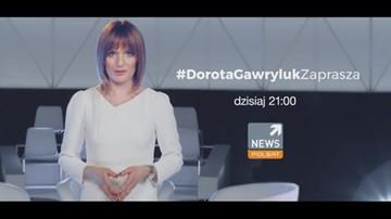 Prezydent Andrzej Duda gościem #DorotaGawrylukZaprasza. Polsat News o 21:00