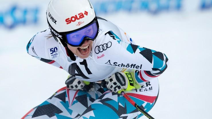 Alpejski PŚ: Niespodziewany triumf Scheyer w zjeździe