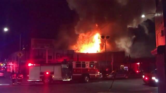 USA: 9 ofiar śmiertelnych pożaru, który wybuchł podczas imprezy muzycznej
