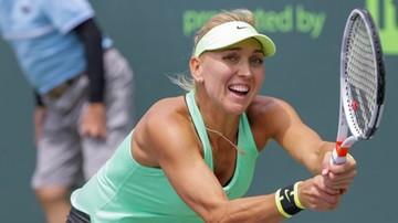 2017-03-24 WTA Miami: Wiesnina przegrała w drugiej rundzie