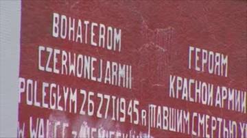 09-08-2016 15:25 Kielce: uszkodzono nagrobki na cmentarzu żołnierzy radzieckich