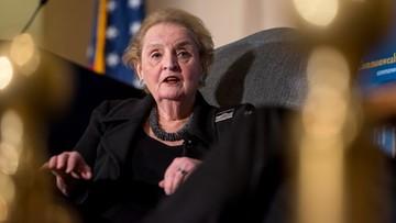 12-05-2016 08:57 Albright: wygrana Clinton byłaby dobra dla Polski, USA i świata