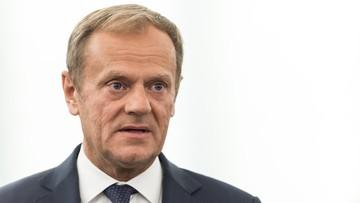 17-05-2017 12:08 Tusk: nie wiem, czy przyjadę do Warszawy na przesłuchanie