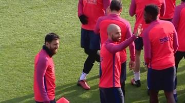 2017-01-03 Messi już czaruje w 2017 roku. Kapitalna bramka na treningu (WIDEO)