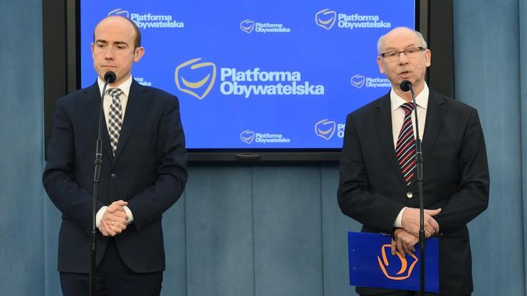 Platforma wykluczyła współpracę z rządem Szydło w sprawach międzynarodowych. Jest nowy wniosek do TK