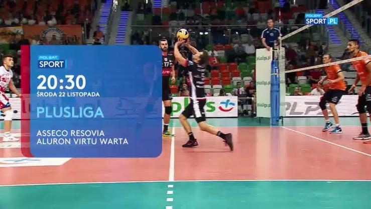 Asseco Resovia Rzeszów - Aluron Virtu Warta Zawiercie. Transmisja w Polsacie Sport