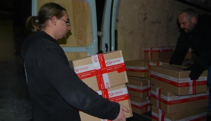 800 kg żywności trafi do Polaków z Kresów