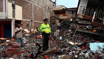 18-04-2016 05:25 Po trzęsieniu ziemi w Ekwadorze uciekło 180 więźniów. Większość pozostaje na wolności
