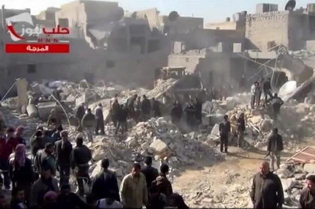 Syria: rząd gotów zawiesić naloty na Aleppo na 6 tygodni