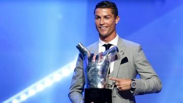 2017-08-24 Ronaldo piłkarzem sezonu w Europie w plebiscycie UEFA