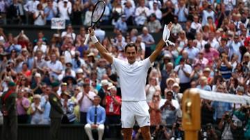 2017-07-16 Wimbledon: Federer rekordzistą turnieju
