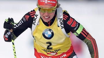 2017-02-15 MŚ w biathlonie: Trzecie złoto Dahlmeier, Polki poza czołówką