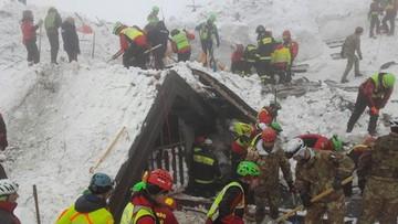 22-01-2017 20:25 Zwłoki szóstej osoby wydobyto spod zniszczonego przez lawinę hotelu