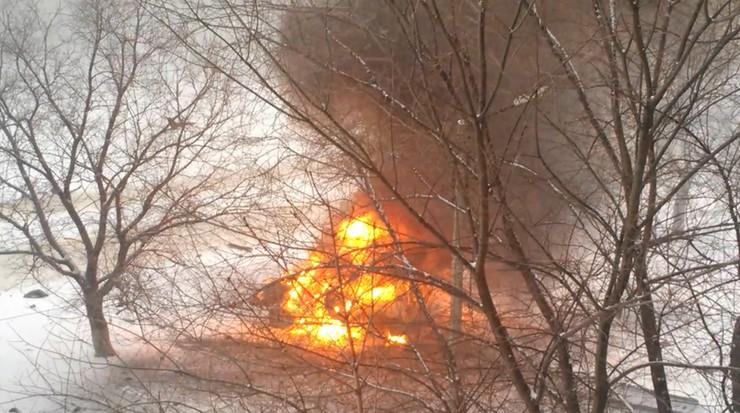 Szef milicji zginął w zamachu. Eksplozja samochodu w Ługańsku