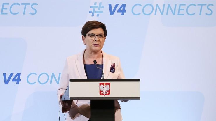 Beata Szydło: Egipt ważnym partnerem w zakresie kontroli nielegalnej migracji