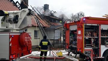 19-02-2017 09:07 Tragiczny pożar w okolicach Kętrzyna