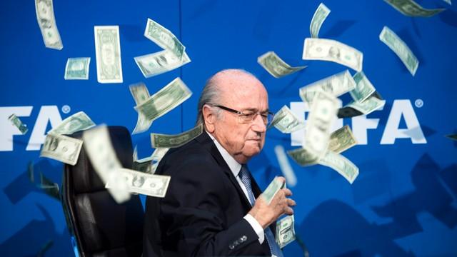 FIFA: Blatter zarobił w 2015 roku 3,32 mln euro