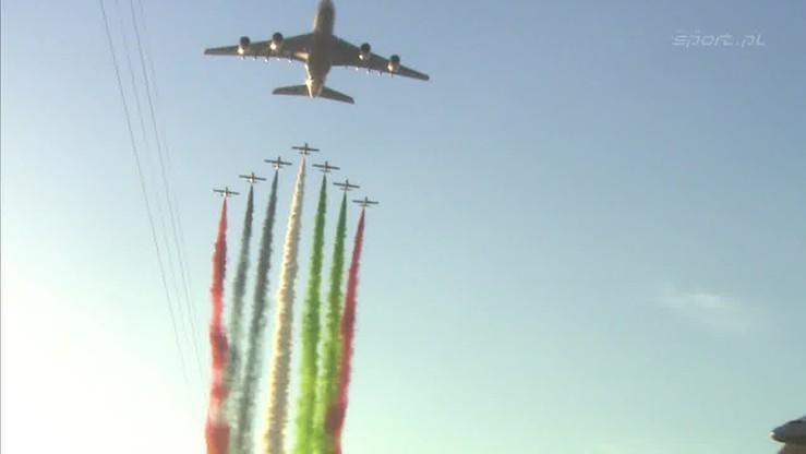 Pokaz lotniczy przed GP Abu Zabi