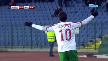 2016-11-13 El. MŚ 2018: Ładna asysta Delewa z Pogoni w meczu Bułgaria - Białoruś (WIDEO)
