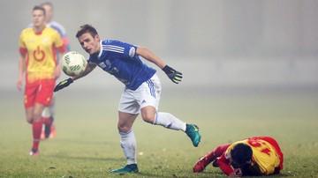 2016-11-25 1 liga: Wielkie emocje w Pruszkowie.  Dziewięć goli i dwie czerwone kartki!